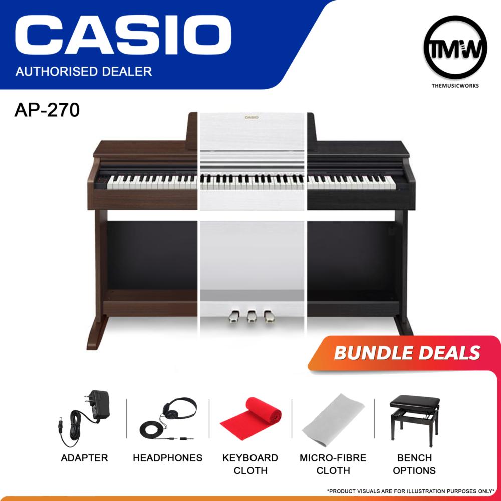 casio ap-270 bundle deals