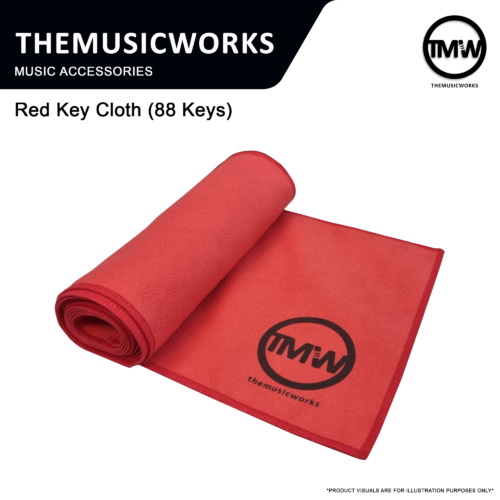 ap-199r red key cloth for digital piano and keyboards