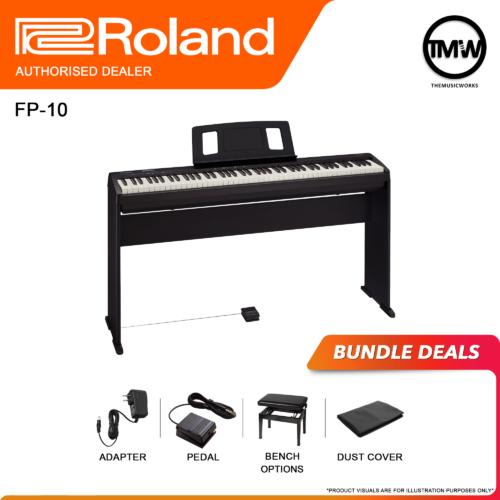 roland fp-10 bundle deals