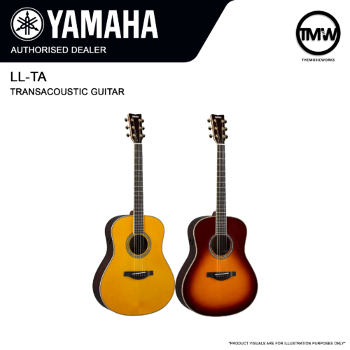 yamaha ll-ta transacoustic guitar
