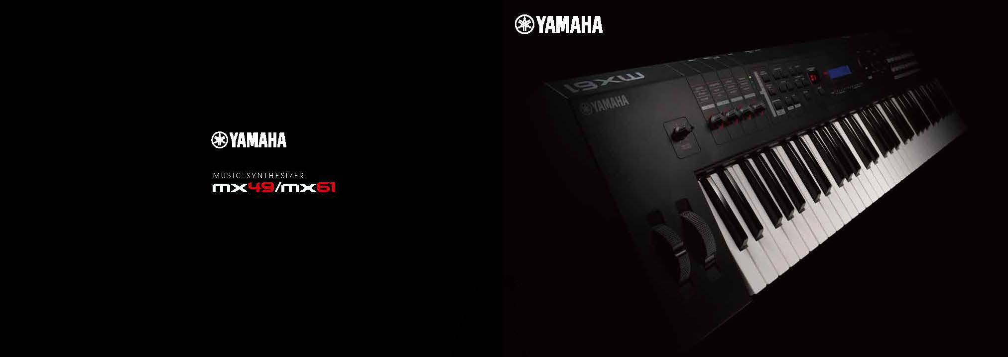 yamaha mx series synthesizer keyboard
