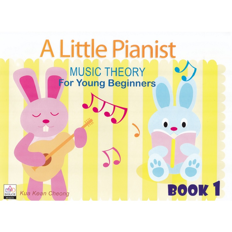 A Little Pianist: Music Theory for Young Beginners Book 1