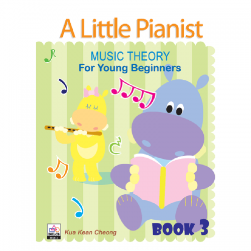 A Little Pianist: Music Theory for Young Beginners Book 3