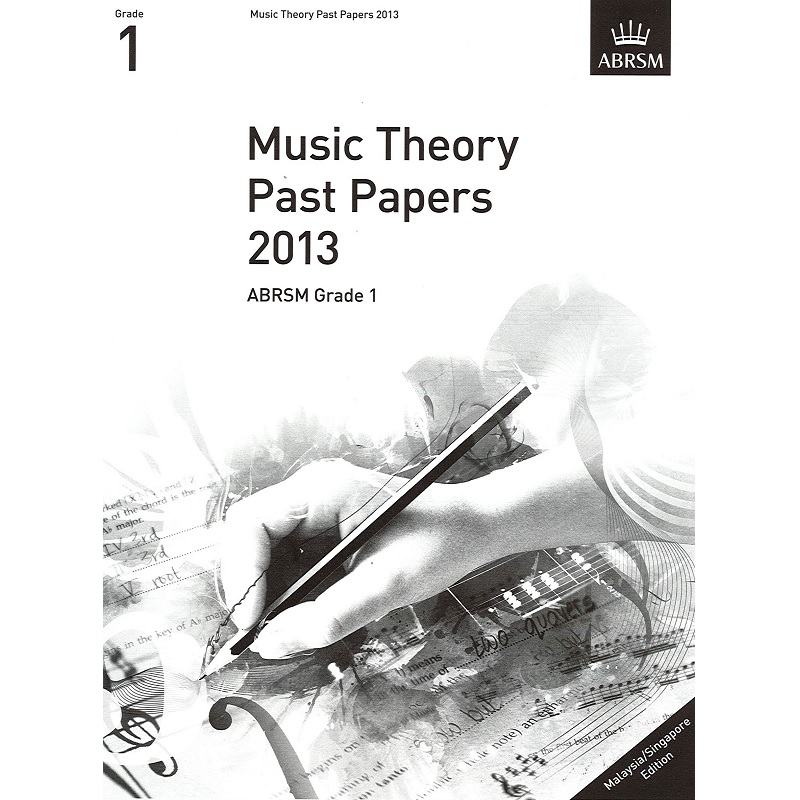 ABRSM Music Theory Past Papers 2013 Grade 1