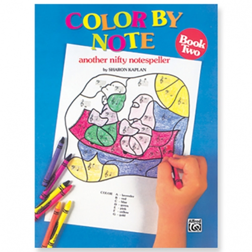 Color By Note Book 2 – another nifty notespeller