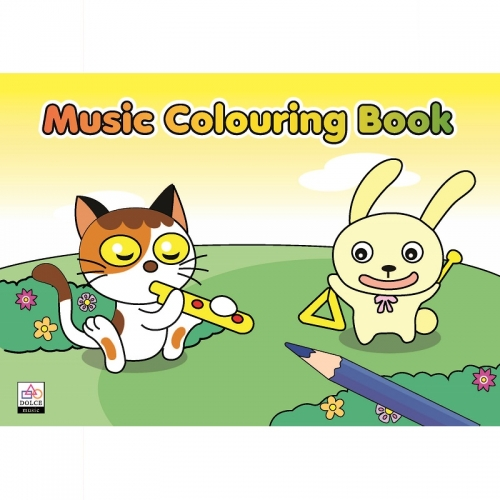 Music Colouring Book 1