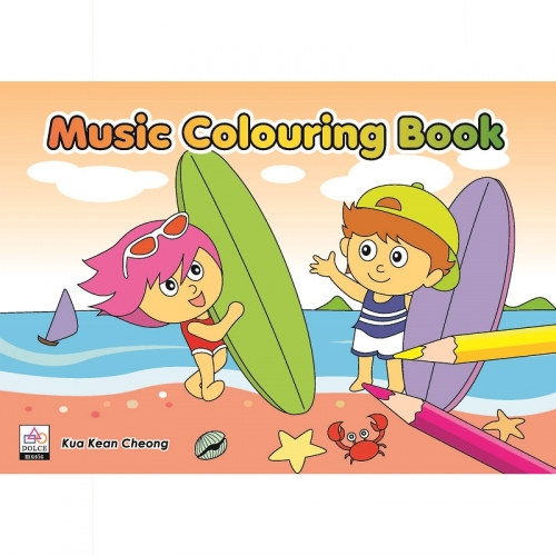 Music Colouring Book 2