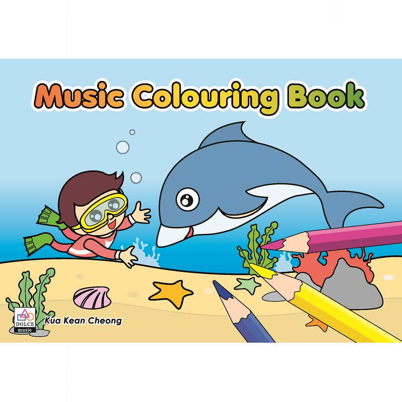 Music Colouring Book 3