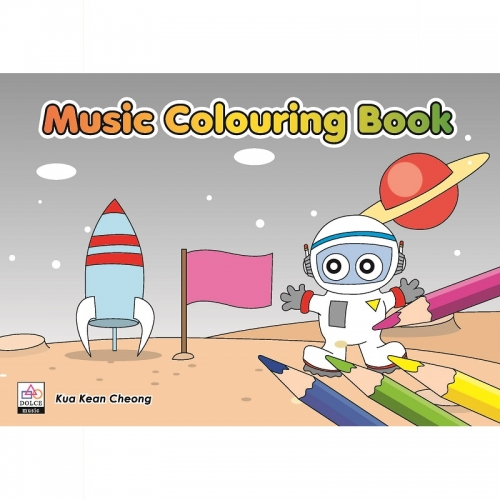 Add to Wishlist Music Colouring Book 4