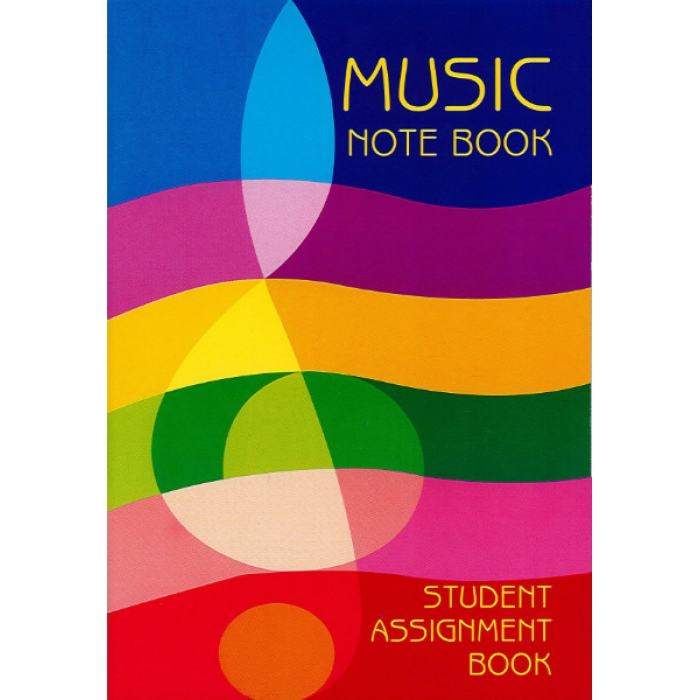 Music Note Book Student Assignment Book