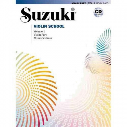 Suzuki Violin School Vol 1 w/CD Asian Edition