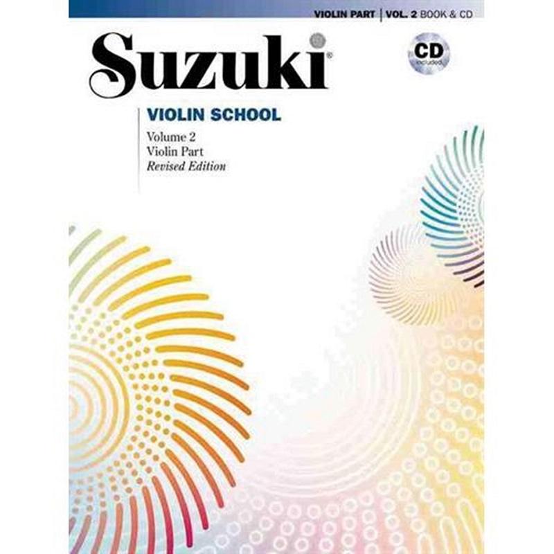 uzuki Violin School Vol 2 w/CD Asian Edition