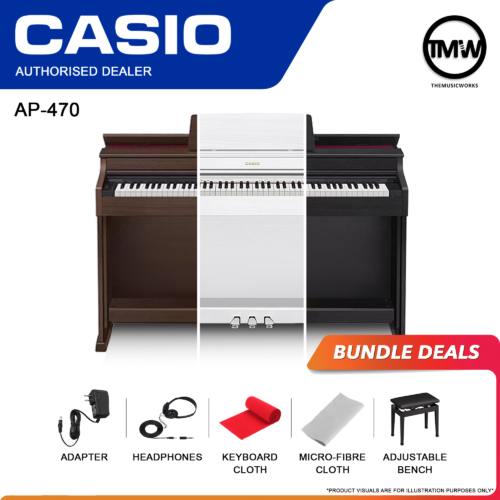 casio ap-470 bundle deals