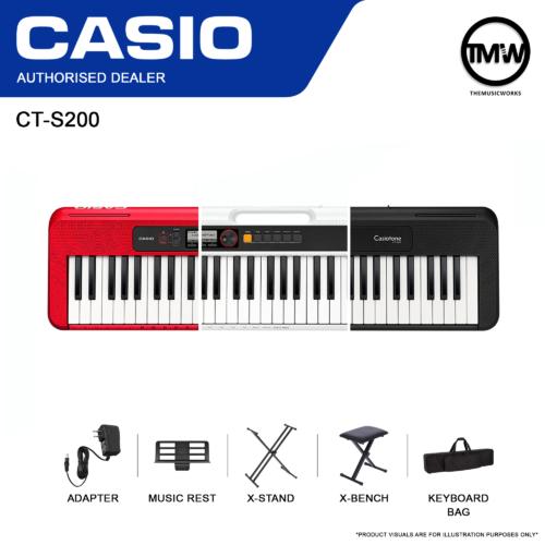 casio ct-s200 bundle deals