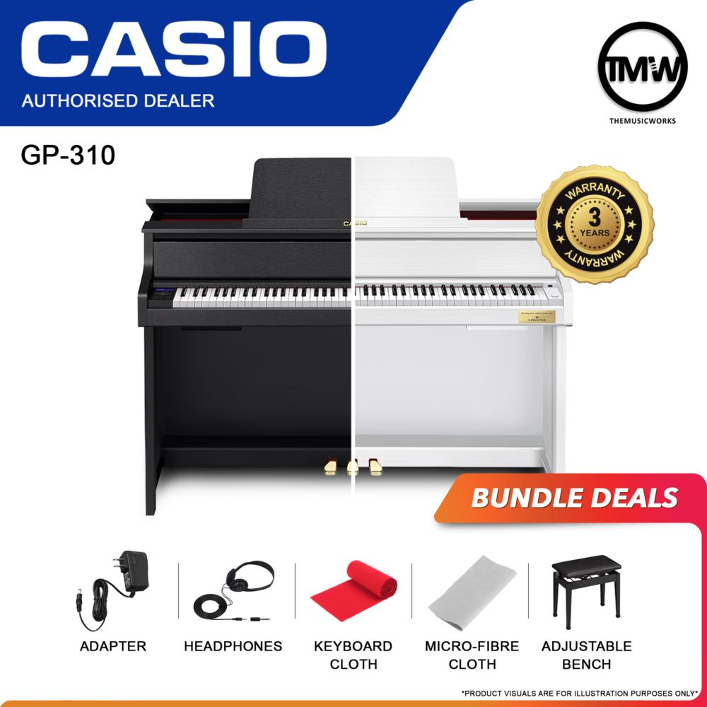 casio gp-310 black and white