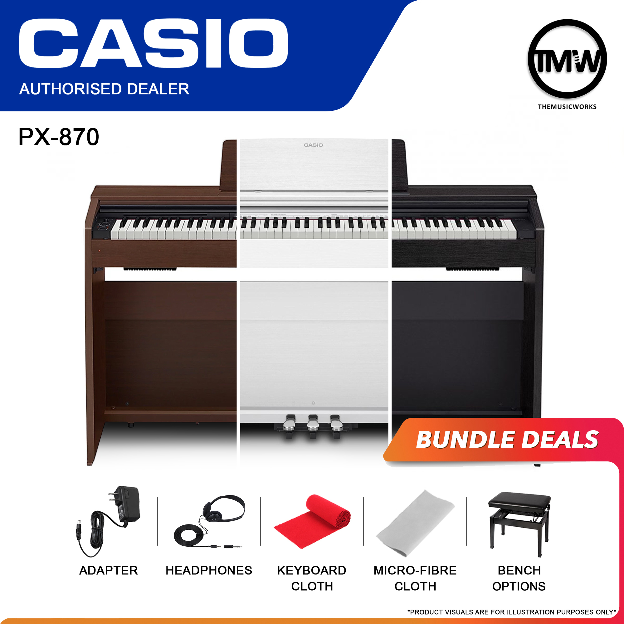casio px-870 bundel deals