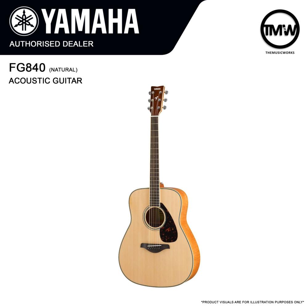 yamaha fg840 acoustic guitar