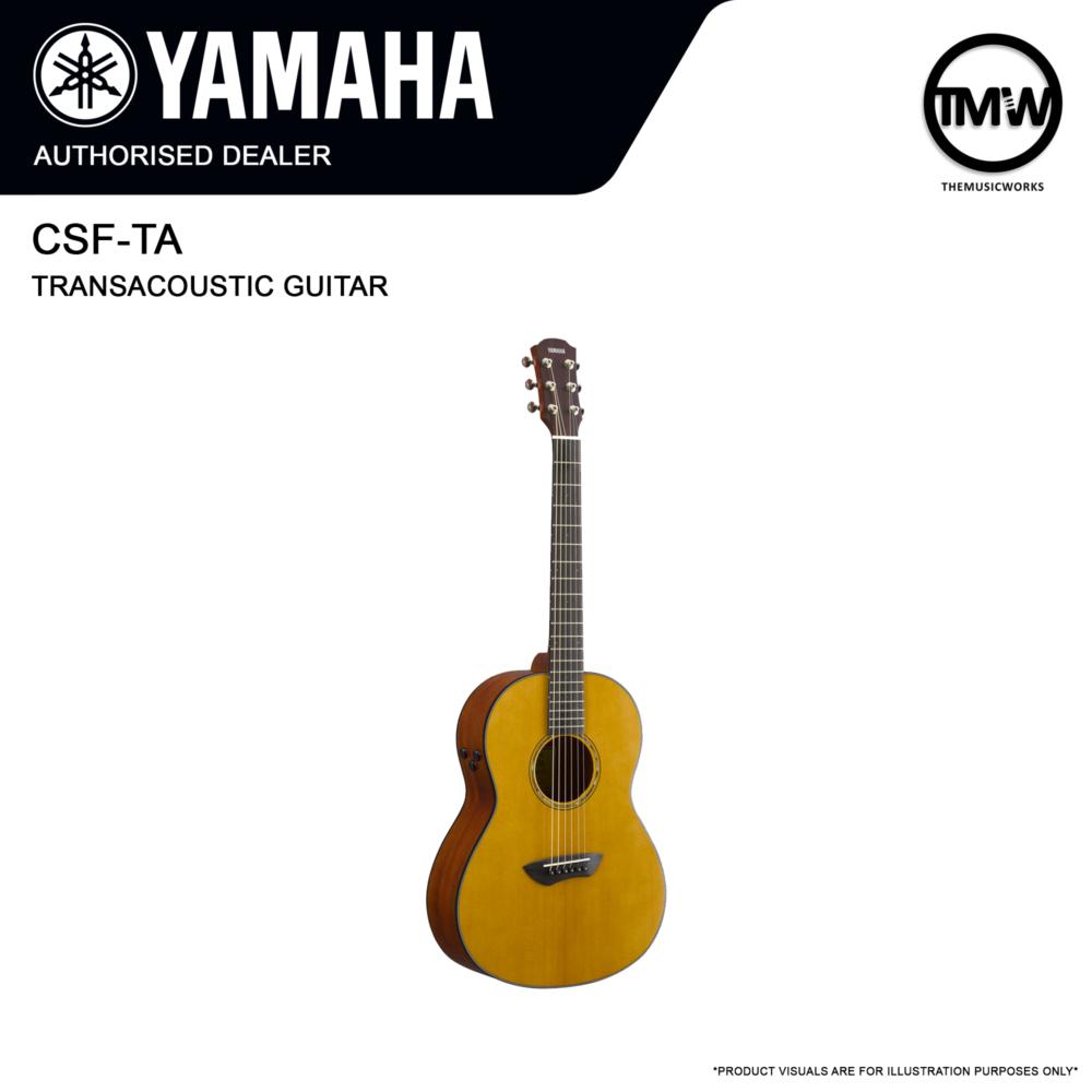 yamaha csf-ta transacoustic guitar