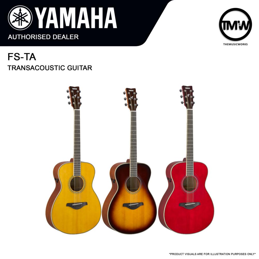 yamaha fs-ta transacoustic guitar