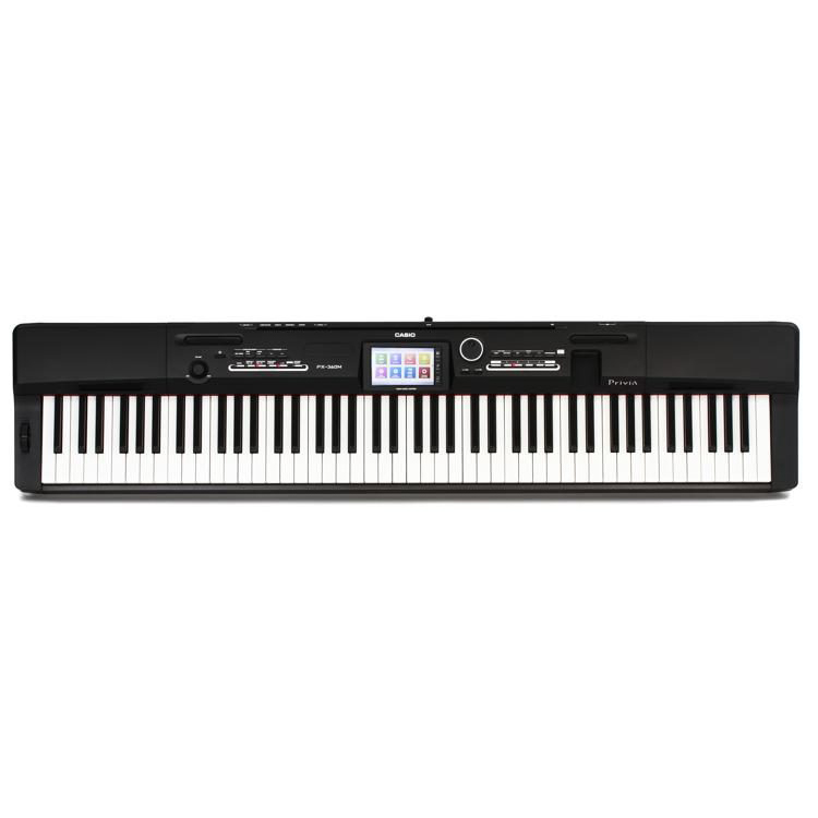 Casio PX-360M Privia Digital Piano Only (Black) 88 Keys The Music Works