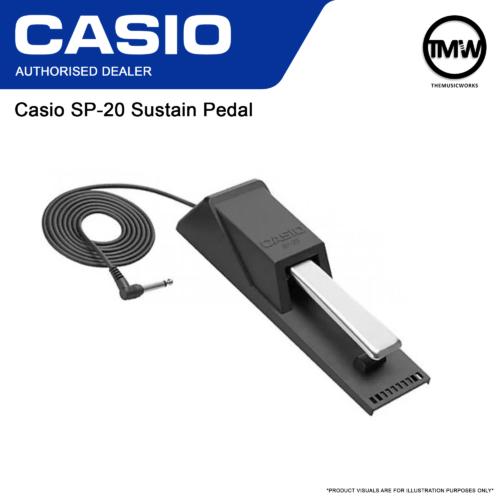 Casio SP-20 Sustain Pedal