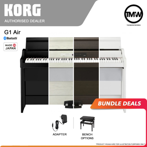 korg g1 air bundle deals