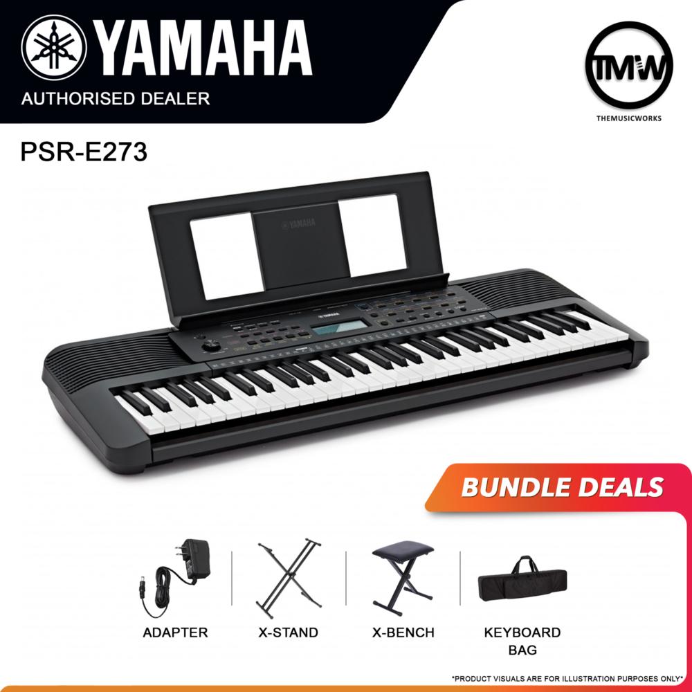 yamaha psr-e273 bundle deals