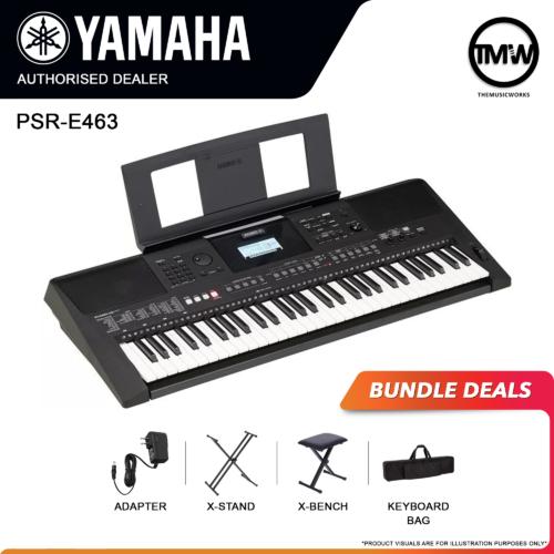 yamaha psr-e463 bundle deals