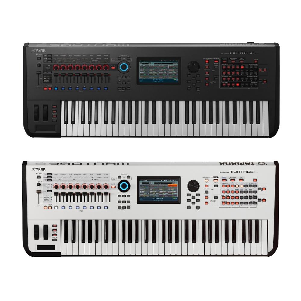 yamaha montage 6 synthesizer workstation keyboard 61 keys