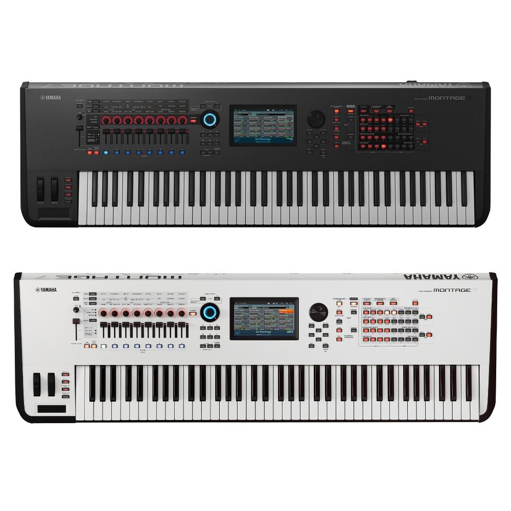 yamaha montage 7 synthesizer workstation keyboard 76 keys