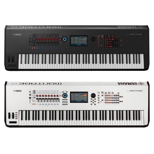 yamaha montage 8 synthesizer workstation keyboard 88 keys