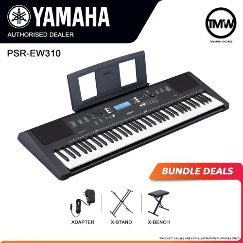 yamaha psr ew-310 bundle deals