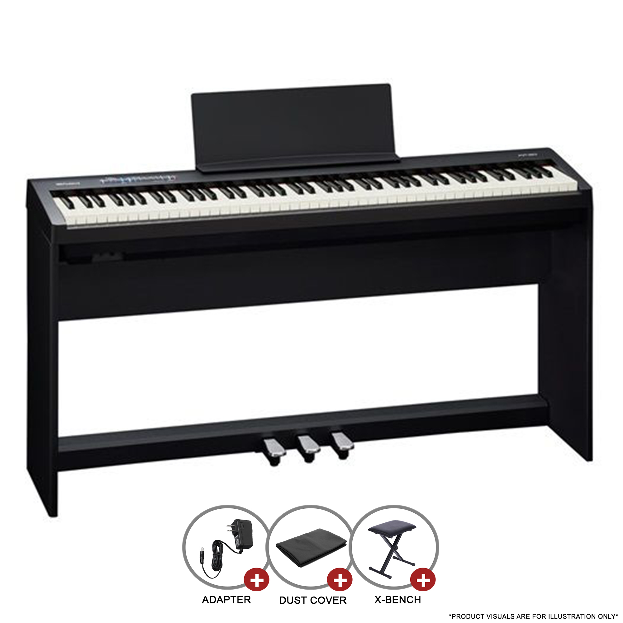 Roland Fp 30 Fp Series Digital Piano Portable Tmw