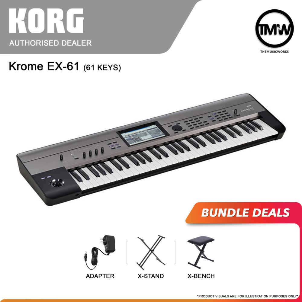 korg krome ex-61 bundle deals
