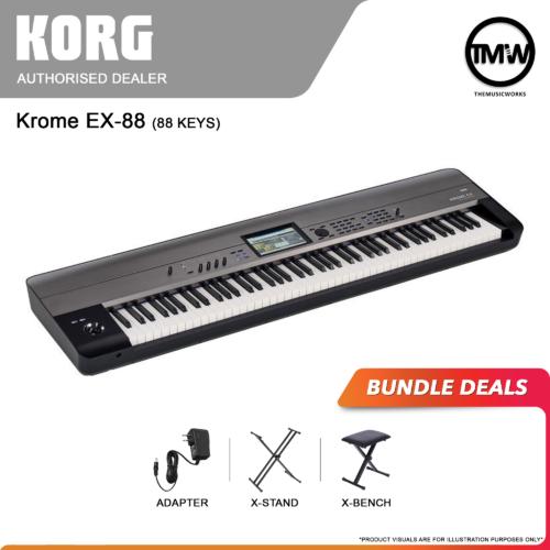 korg krome ex-88 bundle deals