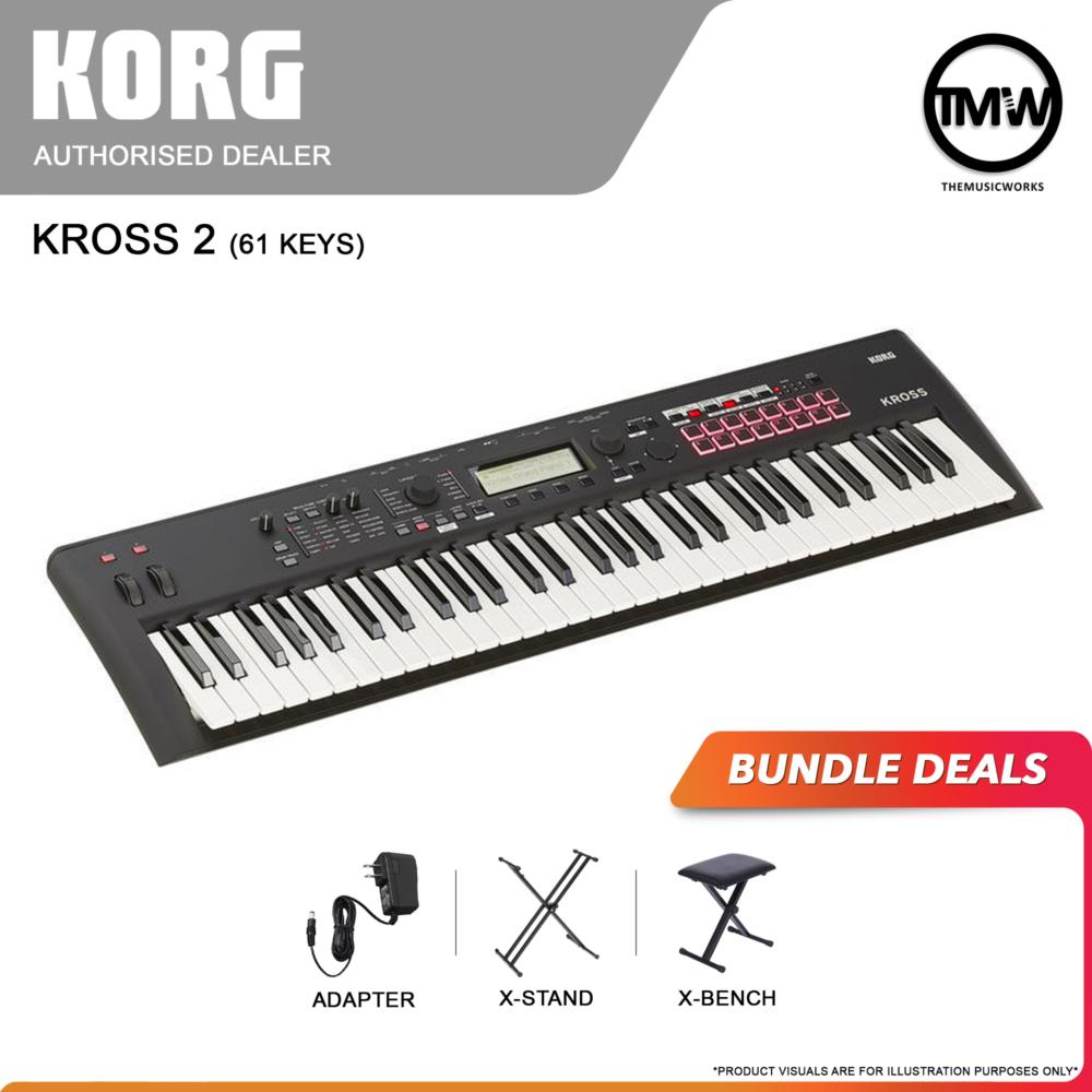 korg kross 2 61-key bundle deals