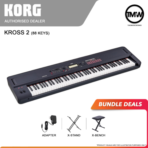 korg kross 2 88-key bundle deals