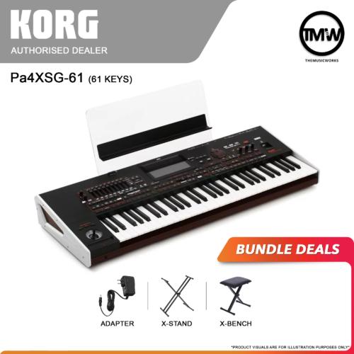 korg pa4xsg 61-key bundle deals