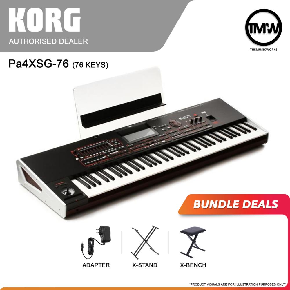korg pa4xsg 76-key bundle deals