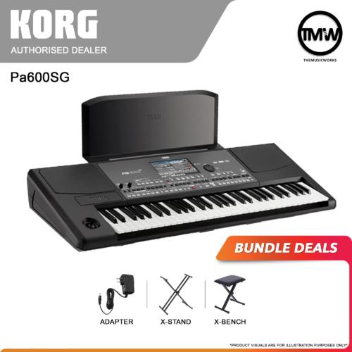 korg pa600sg bundle deals