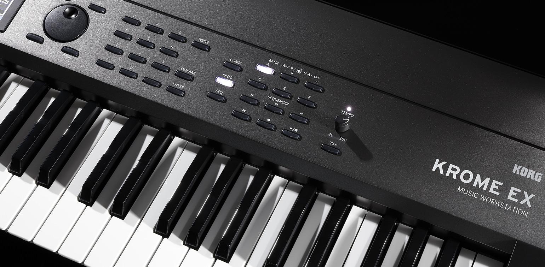 korg krome ex-73 keys