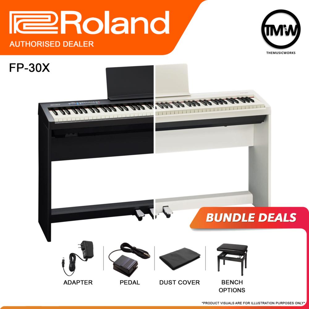 roland fp-30x bundle deals