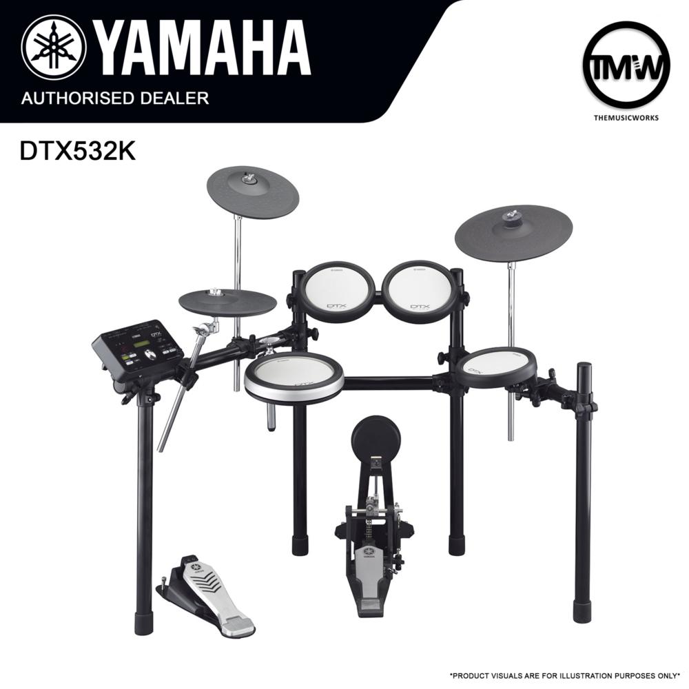 yamaha dtx532k bundle deals