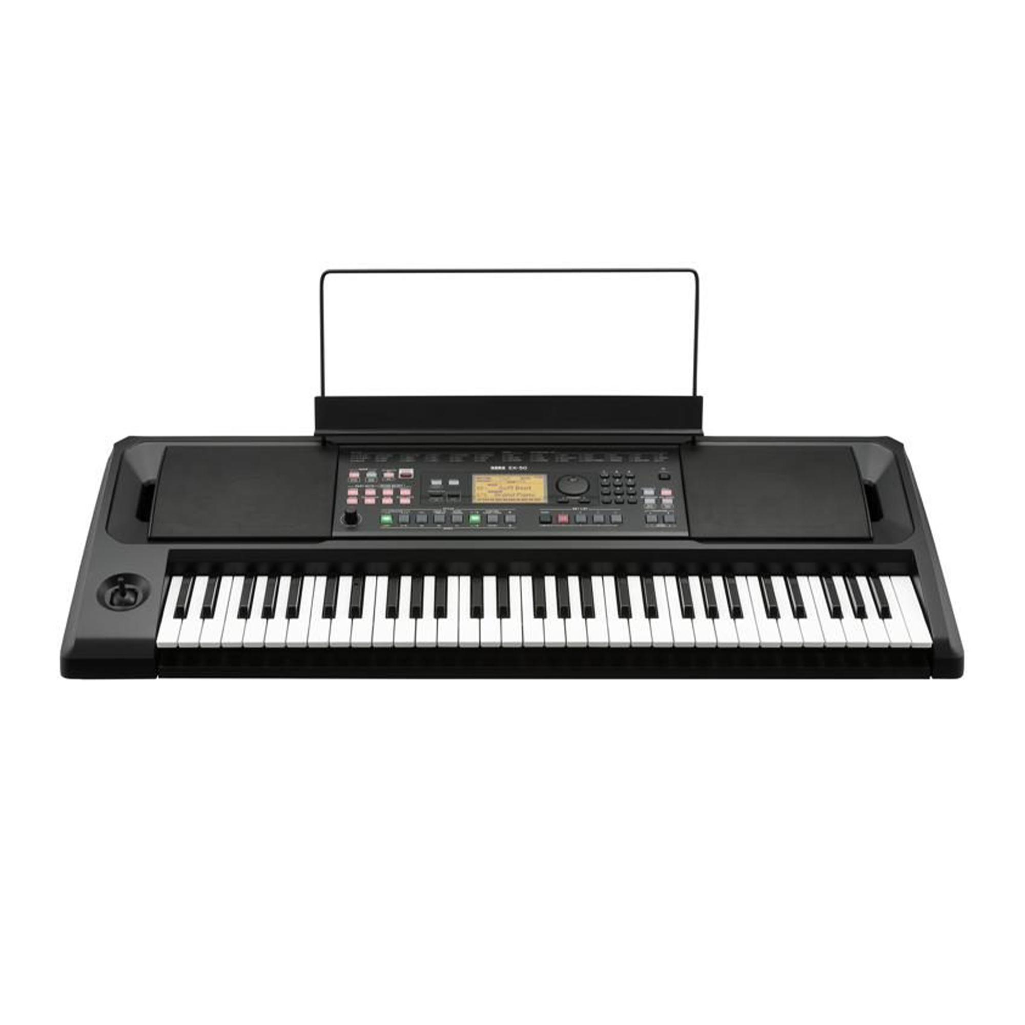 korg ek-50 professional portable entertainer keyboard 61 keys