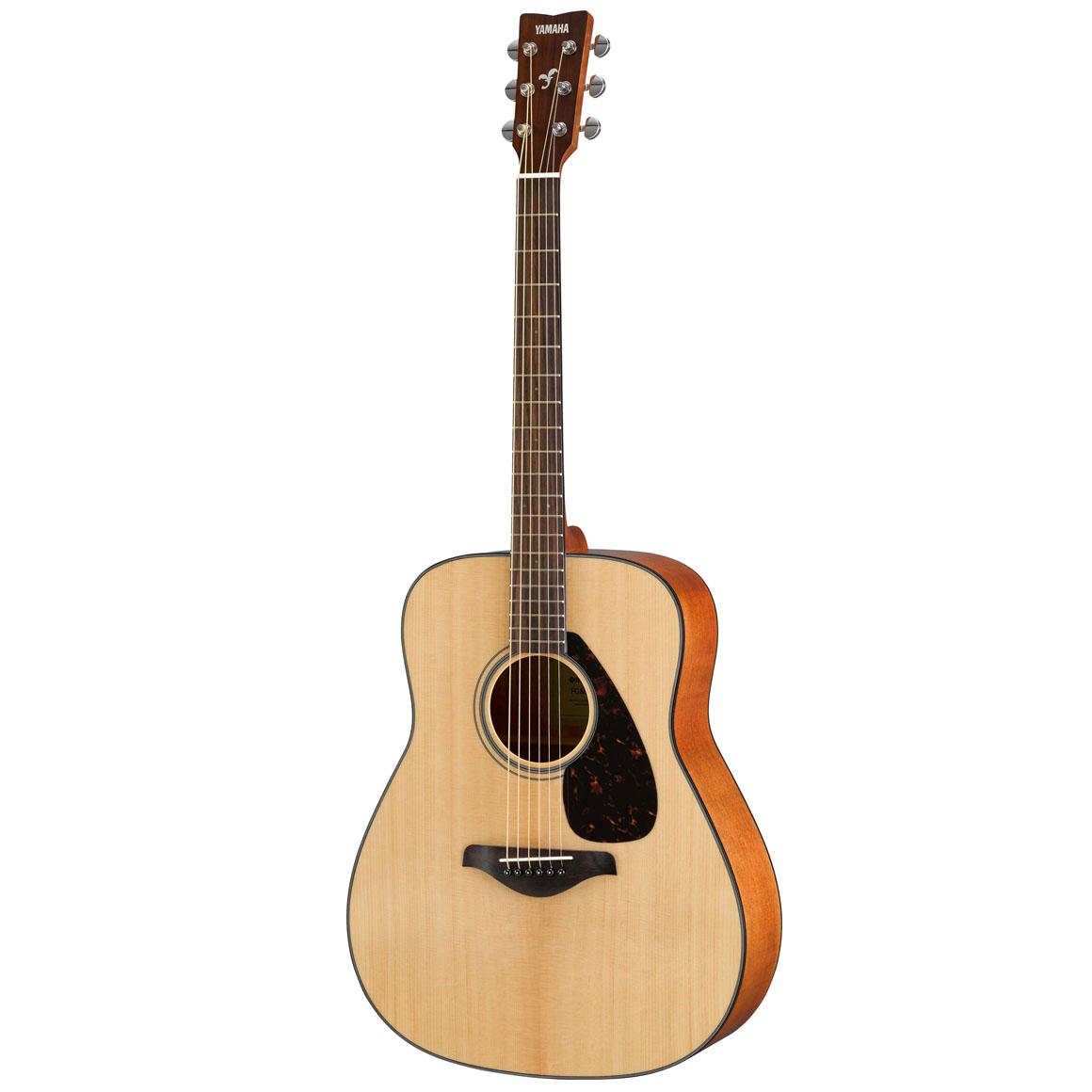 yamaha fg800 natural finish acoustic guitar