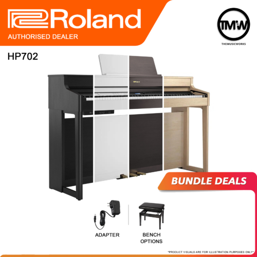 roland hp702 bundle deals