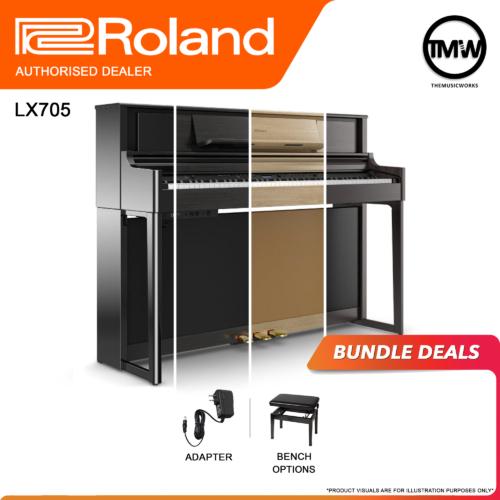 roland lx705 bundle deals