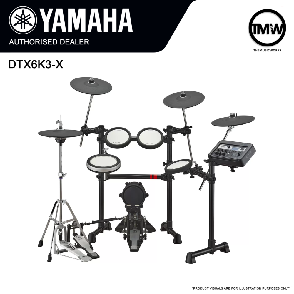 yamaha dtx6k3x bundle deals