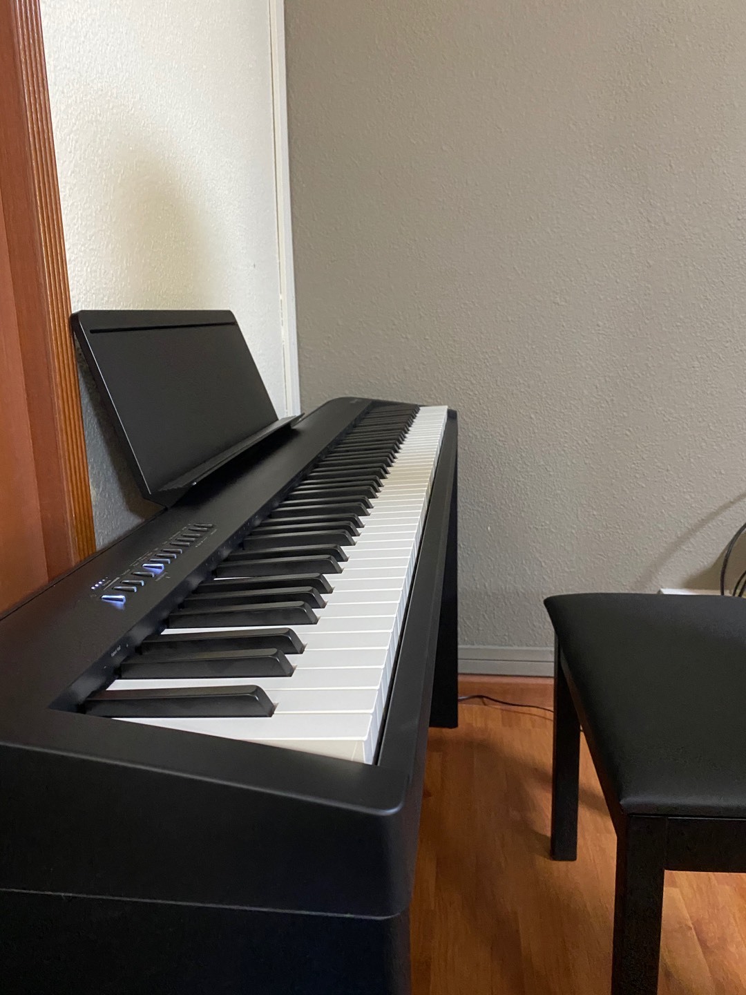 Very pleased with the product and overall a very good piano for the price.