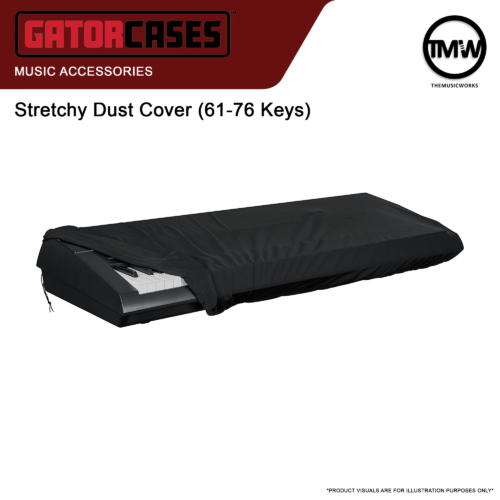 gator 61 to 76 keys keyboard cover